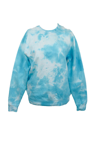 TO DYE FOR LAGUNA BLUE SWEATSHIRT