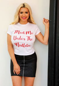 Nicola Mclean Collection MEET ME UNDER THE MISTLETOE