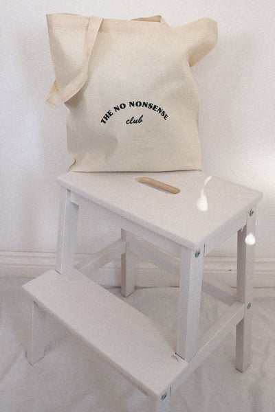 the no nonsense club tote bag