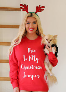 Nicola Mclean Collection THIS IS MY CHRISTMAS JUMPER