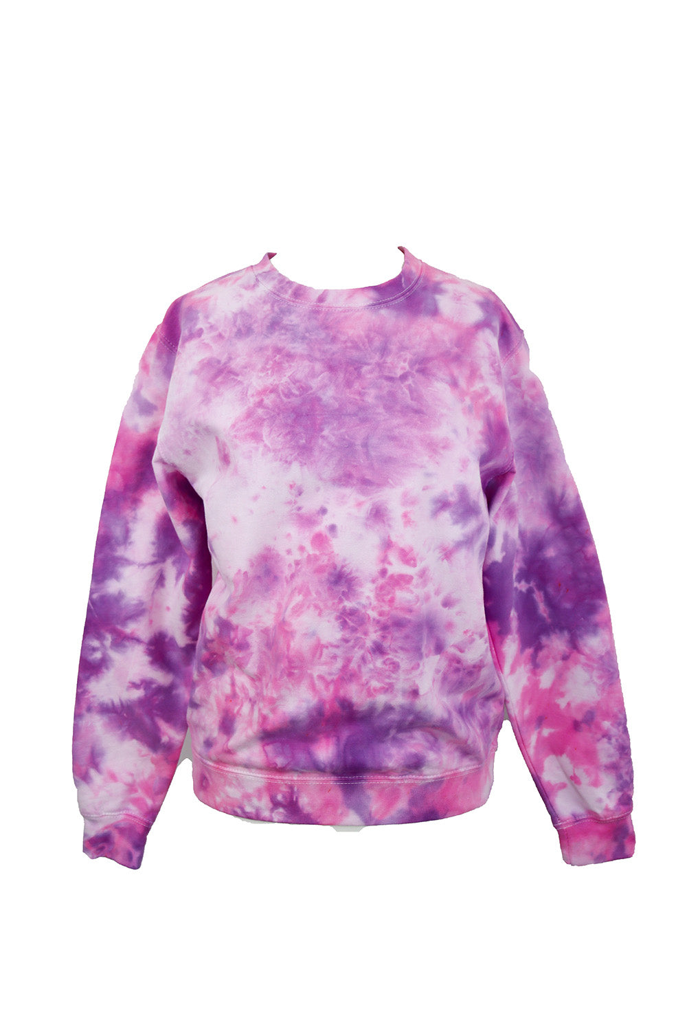TO DYE FOR FIESTA PINK & VIOLET SWEATSHIRT