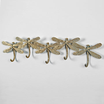 5 Gold Dragonfly Hooks