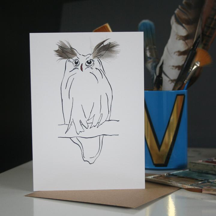 Feather Cards - Big Ears