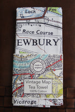 Load image into Gallery viewer, Vintage Map Tea Towel