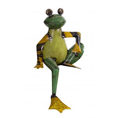 Recycled Tin Frog