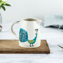 Load image into Gallery viewer, Hannah Turner - Peacock Baby Jug
