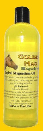 Equine Topical Magnesium Oil 16 Oz.  with Flip Top