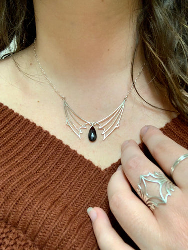 Nocturne Tear Drop Necklace