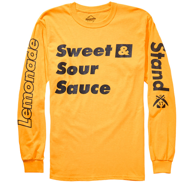 """Sweet and Sour Sauce"" Long Sleeve Tee"