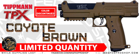 Coyote Brown TiPX