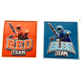 RED & BLUE TEAM PATCHE BUNDLE - MAGFED PROSHOP - 2