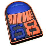 .68 CAL FSR PATCH - Orange Blue - MAGFED PROSHOP - 3
