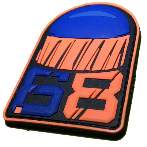 .68 CAL FSR PATCH - Orange Blue - MAGFED PROSHOP - 1