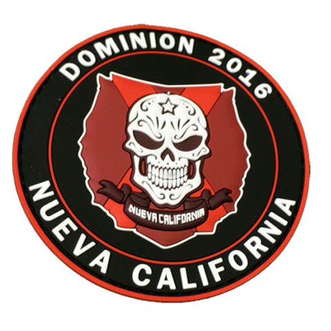 Dominion Nueva California Patch - MAGFED PROSHOP