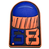 .68 CAL FSR PATCH - Orange Blue - MAGFED PROSHOP - 2