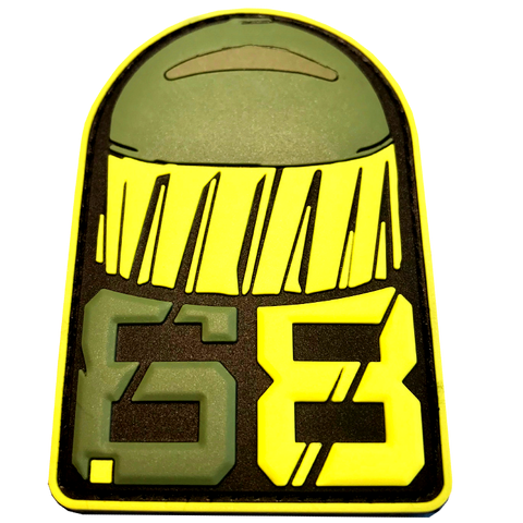 .68 CAL FSR PATCH - Smoke/Yellow