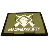 MAGFED SOCIETY BATTLE PACK PATCHE BUNDLE (OD & Tan) - MAGFED PROSHOP - 4