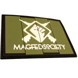 MAGFED SOCIETY BATTLE PACK PATCHES (OD & Tan) - MAGFED PROSHOP - 4