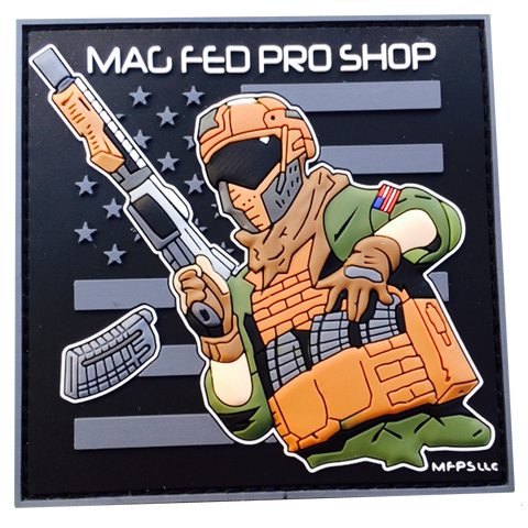 MAGFED PROSHOP PATCHES - MAGFED PROSHOP - 7