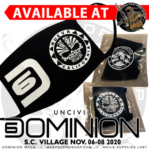 Dominion MFOG Cloth Mask
