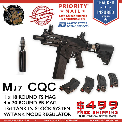 M17 CQC PLAYER PACK BUNDLE - MAGFED PROSHOP - 1