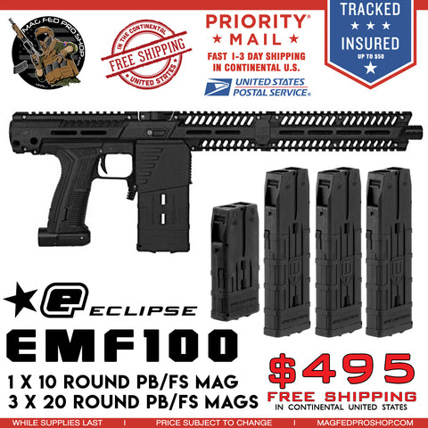 EMEK MG100 4 MAG Bundle