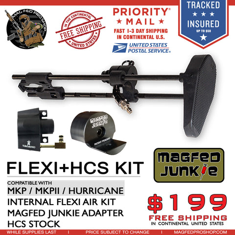 HCS Stock + MKP Flexi Air & Universal Adapter Bundle - MAGFED PROSHOP