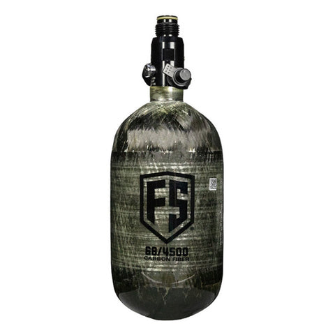 FS 68 C.I. 4500 PSI Carbon Fiber Air Tank