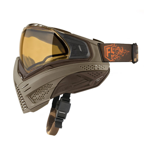 PUSH UNITE GOGGLES - Flat Dark Earth (FDE) Paintball Mask