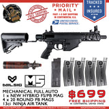 MILSIG M5 PB Mag & Air Tank Bundle