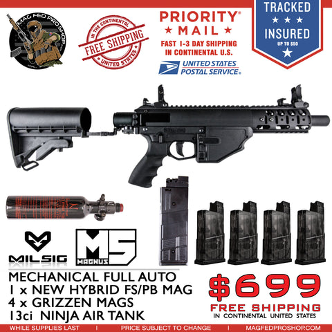 MILSIG M5 GMAGs & Air Tank Bundle