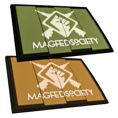 MAGFED SOCIETY BATTLE PACK PATCHES (OD & Tan) - MAGFED PROSHOP - 1
