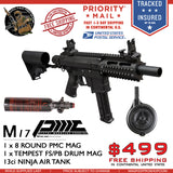 M17 PMC Drum Mag and Air Tank Bundle