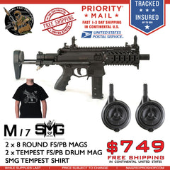 MILSIG M17 SMG DOUBLE DRUM AND T-SHIRT BUNDLE - MAGFED PROSHOP - 1
