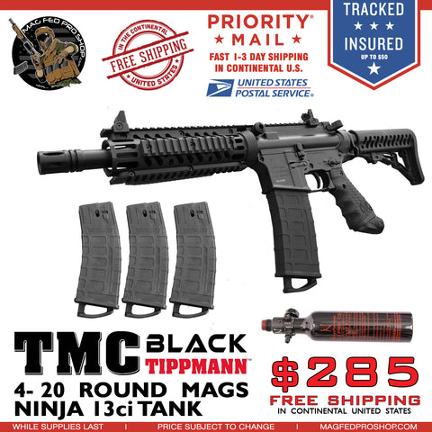 Black TMC 4 MAG and 13ci Tank Bundle