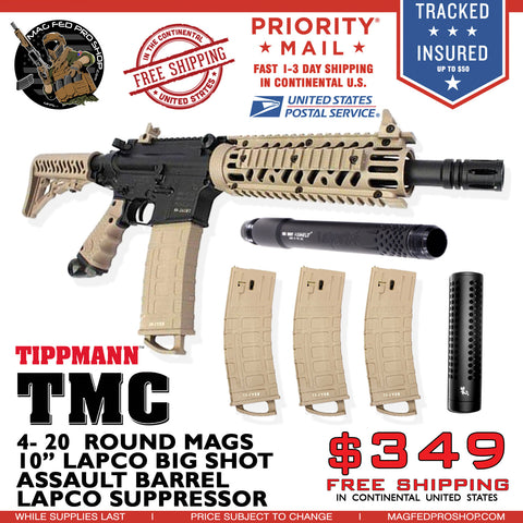 "TMC 4 MAGS & 10"" Barrel Bundle"