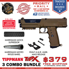 Copy of Coyote Brown TiPX BUNDLE | AMR, Micro Barrel & Suppressor - MAGFED PROSHOP
