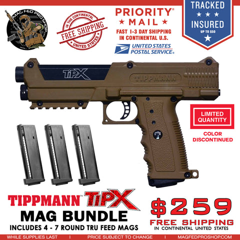 Copy of Coyote Brown TiPX 4 MAG TPX BUNDLE - MAGFED PROSHOP