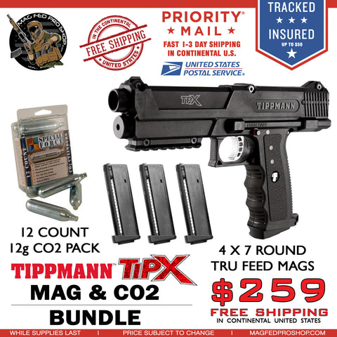 TiPX BUNDLE | TPX 4 MAG & Co2 PACKAGE - MAGFED PROSHOP