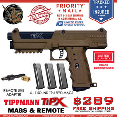 Coyote Brown TiPX BUNDLE | TPX 4 MAG Air Through - MAGFED PROSHOP