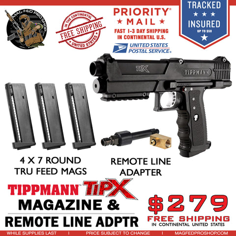 TiPX BUNDLE | TPX 4 MAG Air Through PACKAGE - MAGFED PROSHOP