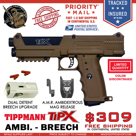 Coyote Brown TiPX BUNDLE | TPX AMR FS PACKAGE - MAGFED PROSHOP