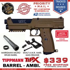 Coyote Brown TiPX BUNDLE | Exalt AMR & Micro Barrel - MAGFED PROSHOP