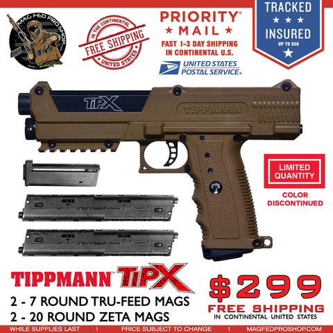 Coyote Brown TiPX | Zeta Mag Bundle - MAGFED PROSHOP