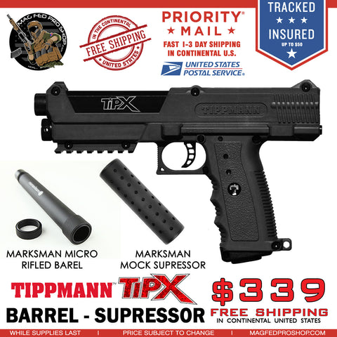 TiPX BUNDLE | Micro Barrel & Suppressor - MAGFED PROSHOP - 1