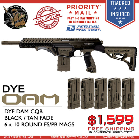 Dye D.A.M FADE Bundle- FDE Flat Dark Earth Fade