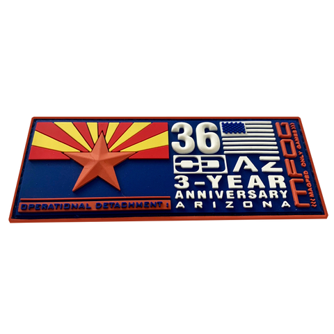 ODAZ MFOG 36 - 3 Year Anniversary Patch