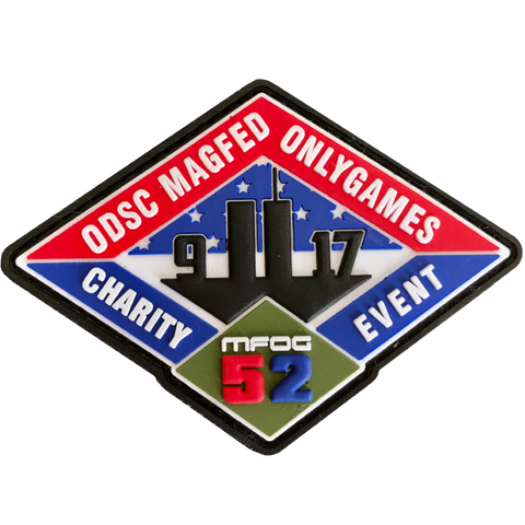 MFOG 52 PATCH - 9/11 CHARITY