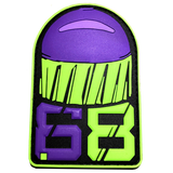 .68 CAL FSR PATCH - Purple Green - MAGFED PROSHOP - 3