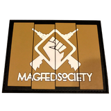 MAGFED SOCIETY BATTLE PACK PATCHES (OD & Tan) - MAGFED PROSHOP - 6
